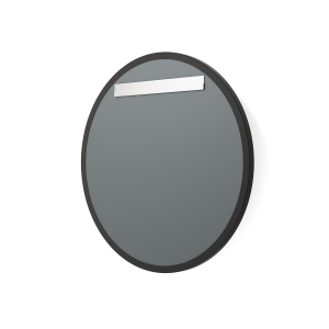 View of mirror back and the Ultra-Flush Hanging System